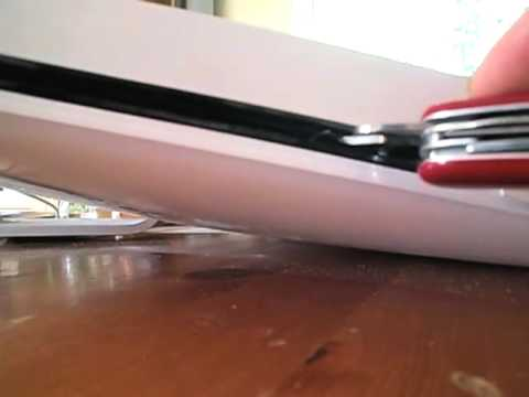 how to remove stuck cd from imac of slot loading cd of dvd. Black Bedroom Furniture Sets. Home Design Ideas
