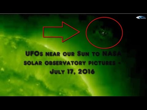 UFOs near our Sun to NASA solar observatory pictures - July 17, 2016