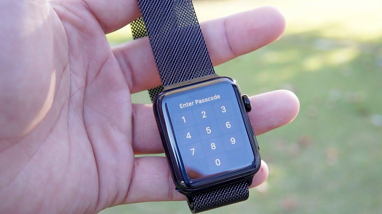 Đập hộp \u0026 trên tay Apple watch series 2 bản thép không rỉ