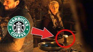 Game of Thrones'da Starbucks Bardağı - Hata mı