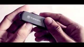 Review: Transcend JetFlash 220 Flashdrive(w/Fingerprint Scanner)