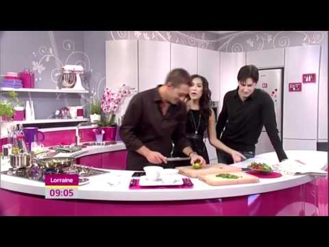 Richard Armitage Cooking Sept 17, 2010 on Lorraine en streaming