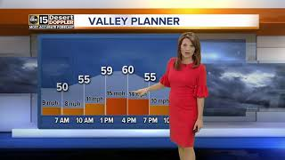 Winter weather moving into Valley