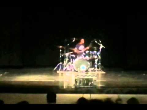 Carbondale Community High School 2014 Talent Show: Drummer Tajai Taylor : Breath by  Yellow Card
