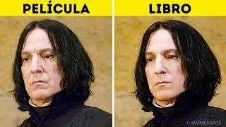 Cómo J.K. Rowling imaginó los personajes de Harry Potter vs. cómo fueron retratados en las películas