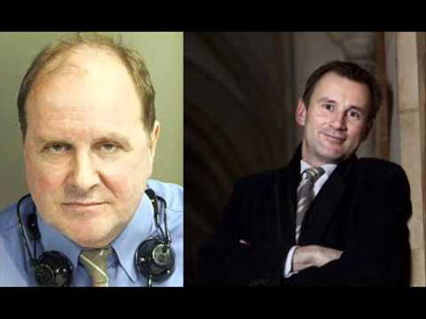 James Naughtie being very Naughty about Jeremy Hunt Today Programme BBC Radio 4 Cussing!