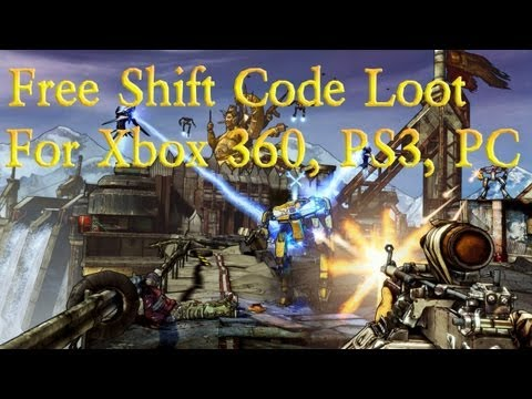 Borderlands 2 Free Shift Code Loot For Xbox 360, PS3, and PC!
