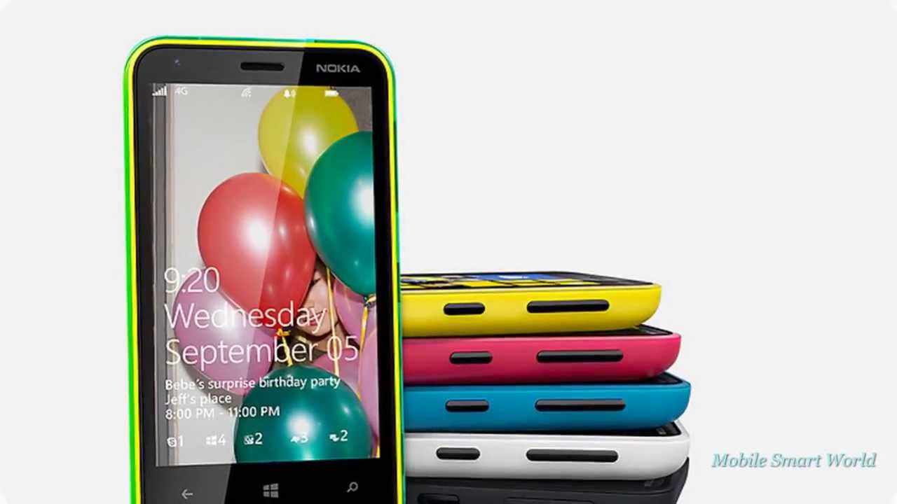 Nokia Lumia 620 Smartphone Smart Inside And Out Youtube Magenta