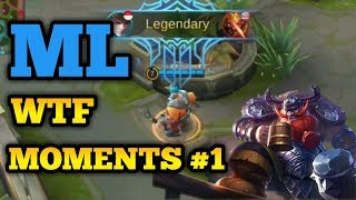 Mobile Legends Funny Moments Episode 01 Lucu OMG   300 IQ Stupid Troll