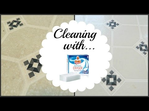 Restoring Floors with Magic Eraser   Clean With Me