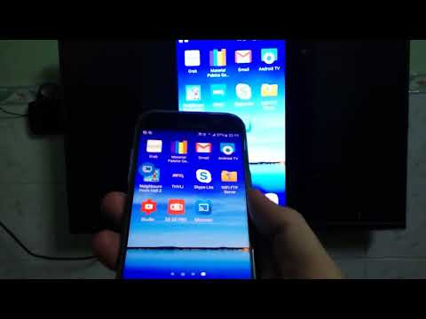 How to cast android phone screen to TV screen? (Miracast - Wifi display for android)