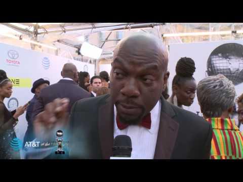 48th NAACP Image Awards Red Carpet: Omar J Dorsey