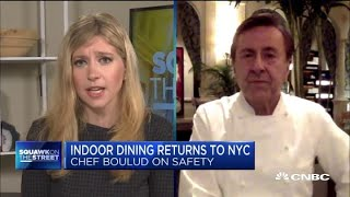 N.Y.C.'s 25% indoor dining is not sustainable: Chef Daniel Boulud