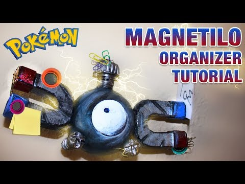 Pokémon Organizer Magnetilo TUTORIAL DIY