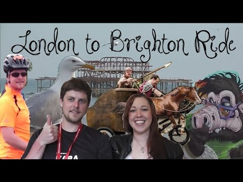London to Brighton Road Ride & Life by the Seaside