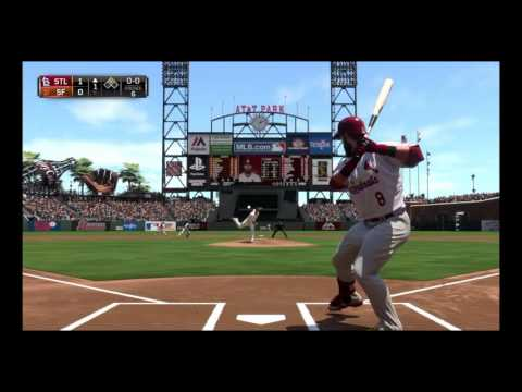 Breaking Barry Bonds Homerun Record in MLB 15 Road To The Show