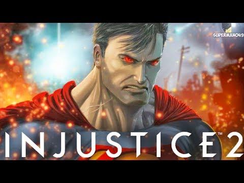 "SUPERMAN'S CRAZY NEW CORNER RESET!! - Injustice 2 ""Superman"" Gameplay (Epic Gear)"