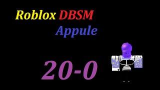 Roblox DBSM H.B.F Mission 2 : Appule 20-0