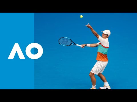 Ivo Karlovic v Kei Nishikori match highlights (2R) | Australian Open 2019