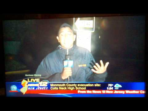 Is it humid out there?  Funny News 12 New Jersey interview