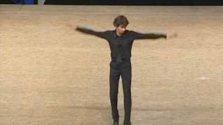 Daniel Leveillé, world champion of tap dancing 2009
