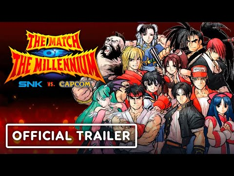 SNK VS. CAPCOM: The Match of the Millennium - Official Nintendo Switch Launch Trailer