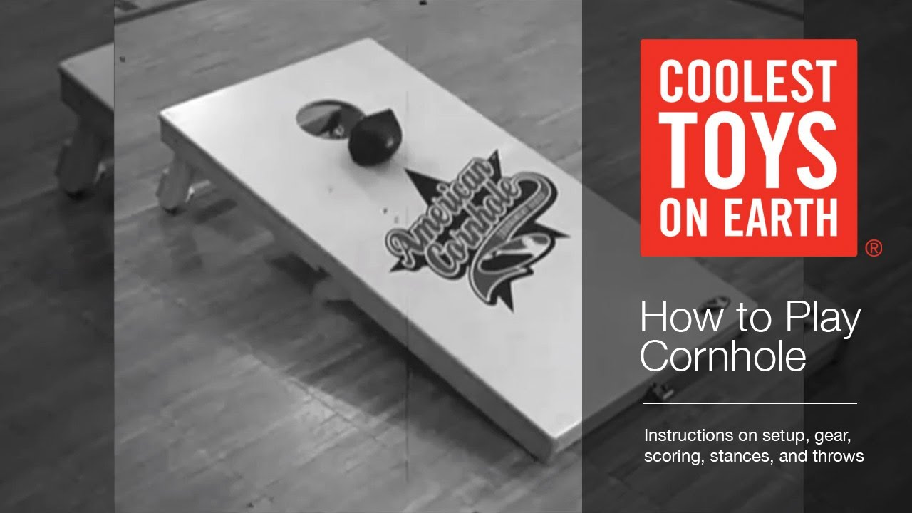 Coolest Toys On Earth : How to play cornhole coolest toys on earth cincinnati oh