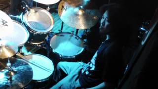 【naqro/Unholy Grave】 Drummer:Hee Chung (ひーちゃん) ≪2014,01/05 Drums Side≫