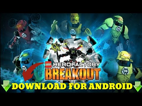 Lego Hero Factory For Android With Download Link Youtube
