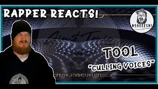 Tool - Culling Voices | RAPPER REACTION - SPEECHLESS! LOL