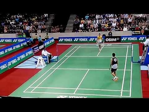 Taufik Hidayat vs Parupalli Kashyap - Part 2/7 - BWF India Open 2013