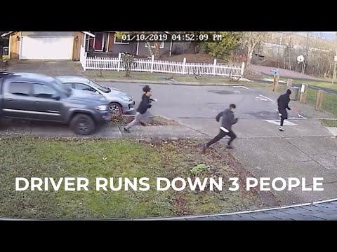 Kristina Kage - Video shows driver run down three people in NE Portland