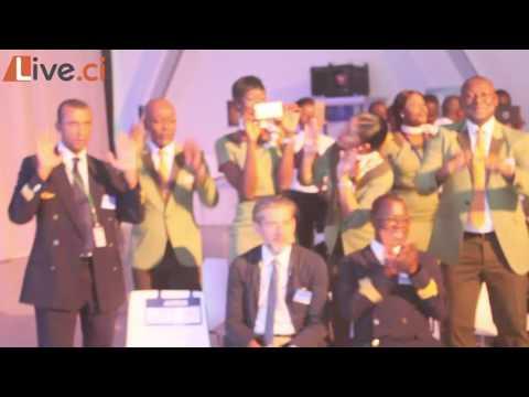 livraison du 1er A320 de Air Côte d'Ivoire: Magic enflamme Airbus à Toulouse