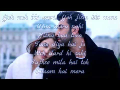 Ae Dil Hai Mushkil •Karaoke with Lyrics•Arijit Singh• 2016 thumbnail