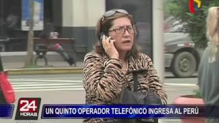 Quinto operador telefónico ingresa al Perú