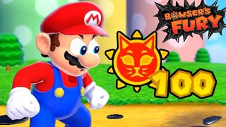 What Happens When You Start With 100 Cat Shines in Bowser's Fury?