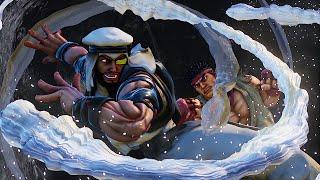 Street Fighter V: Rashid Reveal Trailer