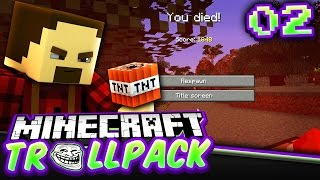 why does this keep happening   minecraft troll pack smp 2