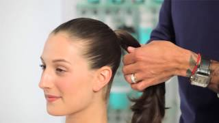 MOROCCANOIL | Professional tutorial How to create a perfect ponytail and bun Thumbnail