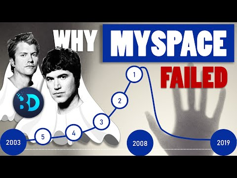 Why MySpace Failed - Top 5 Reasons