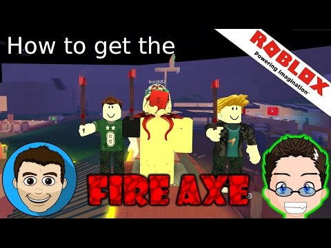 Roblox - Lumber Tycoon 2 - How to get the Fire Axe