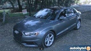 2015 Audi A3 2.0 TFSI quattro Compact Luxury Sedan Test Drive Video Review