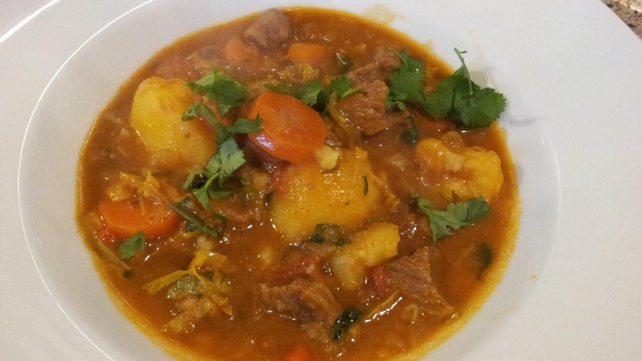 Kenyan Style Beef Stew Recipe - YouTube