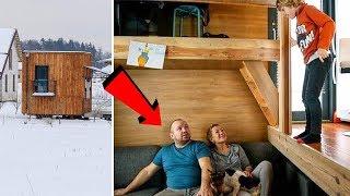In questa casa di 16 m2 vivono 3 persone e un cane! Incredibile cosa c'è dentro..