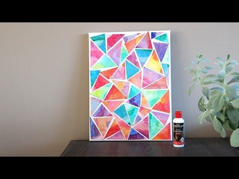 Voorkeur DIY mozaiek schilderij maken! - YouTube &VJ67