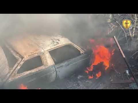 لحظة استهداف جيش الاحتلال التركي لبلدة العريمة بالريف الشرقي لمدينة الباب1/3/2020