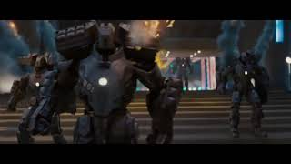 Iron Man Saves Peter Parker - Hammer Drones Attack Scene - Iron Man 2 (2010) HD