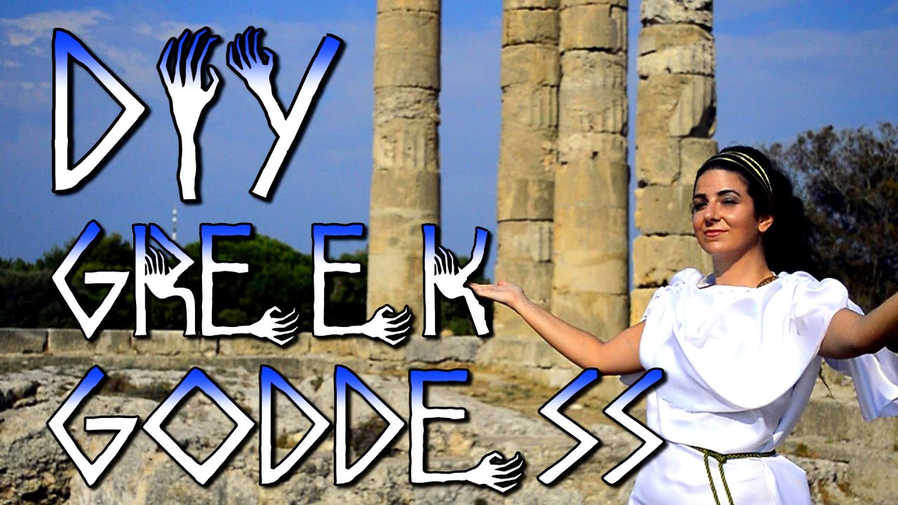 greek roman goddess god costume halloween diy youtube