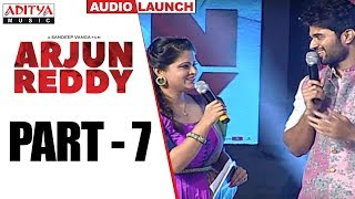 Arjun Reddy Audio Launch Part - 7 || Vijay Devarakonda || Shalini