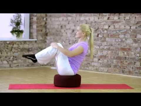 Cuscino Cilindrico Per Yoga.Esercizi Sul Cuscino Sissel Yoga Relax Cushion